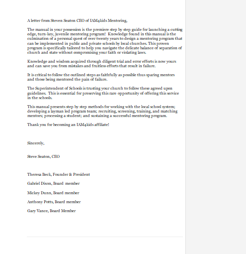 manual intro letter final